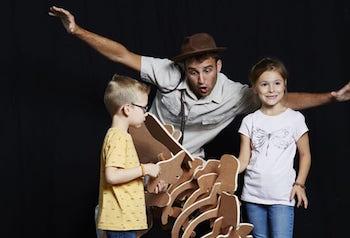 anniversaire enfant archeologue