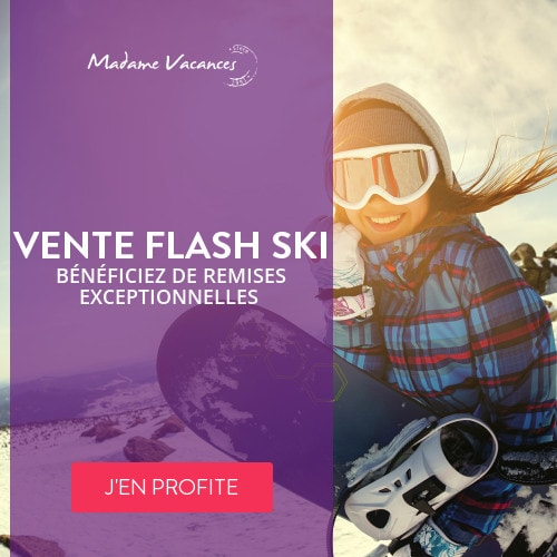 ventes flash ski Madame Vacances