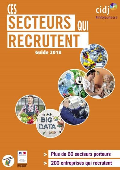 guide 2018 des secteurs qui recrutent