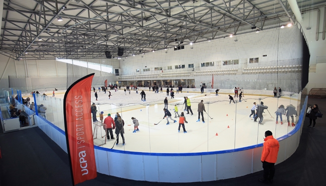 patinoire Aren'Ice Cergy