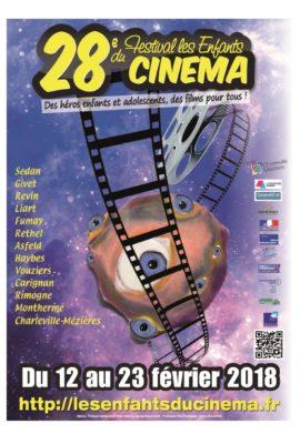 affiche festival Les Enfants du cinéma 2018