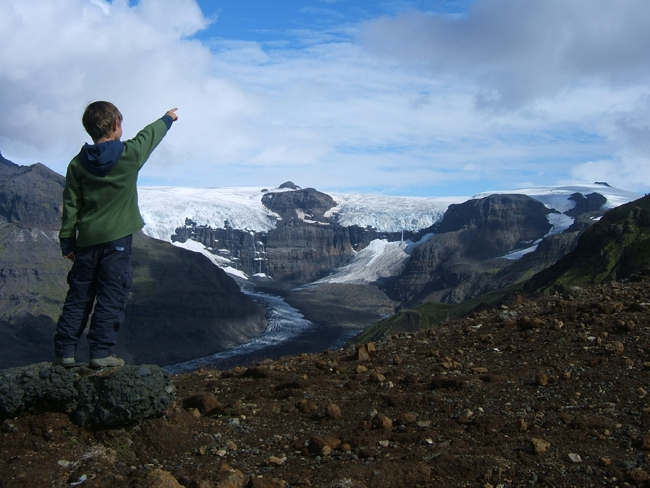 voyage en islande avec des enfants