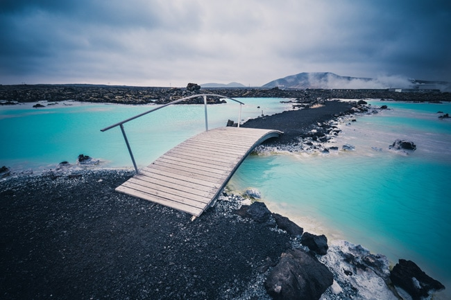lagon en Islande