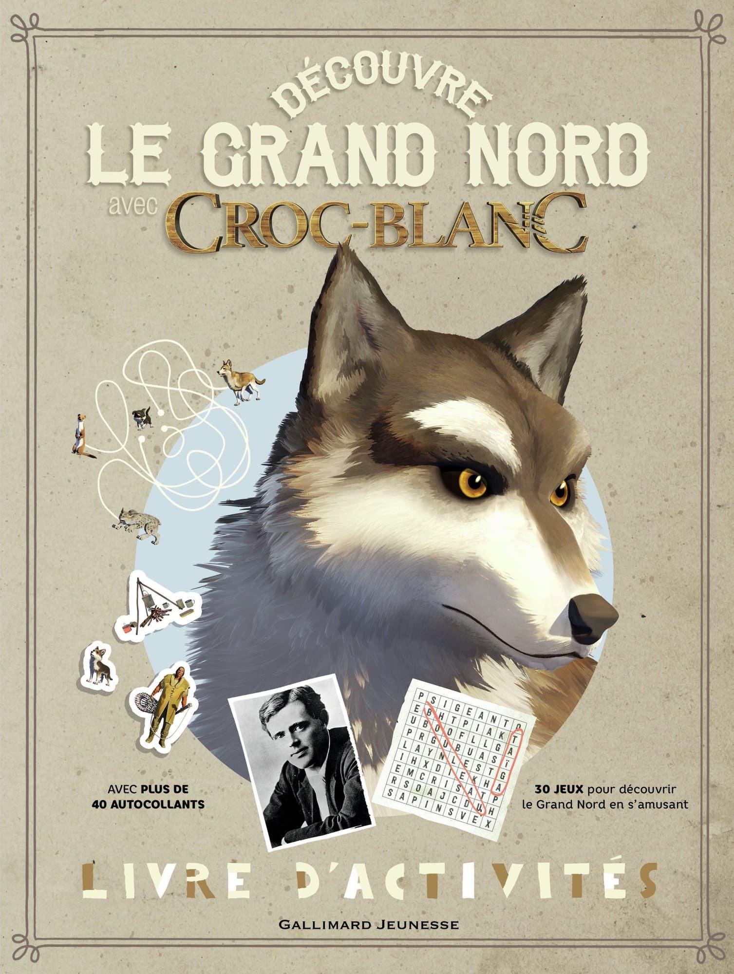Croc-Blanc-livre-activites-Gallimard