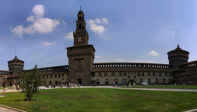 Milan en famille château Sforza