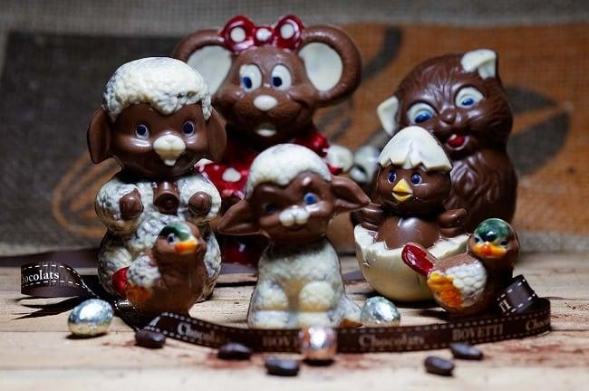 chocolats de pâques Bovetti