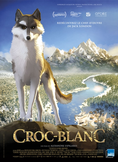 affiche Croc Blanc
