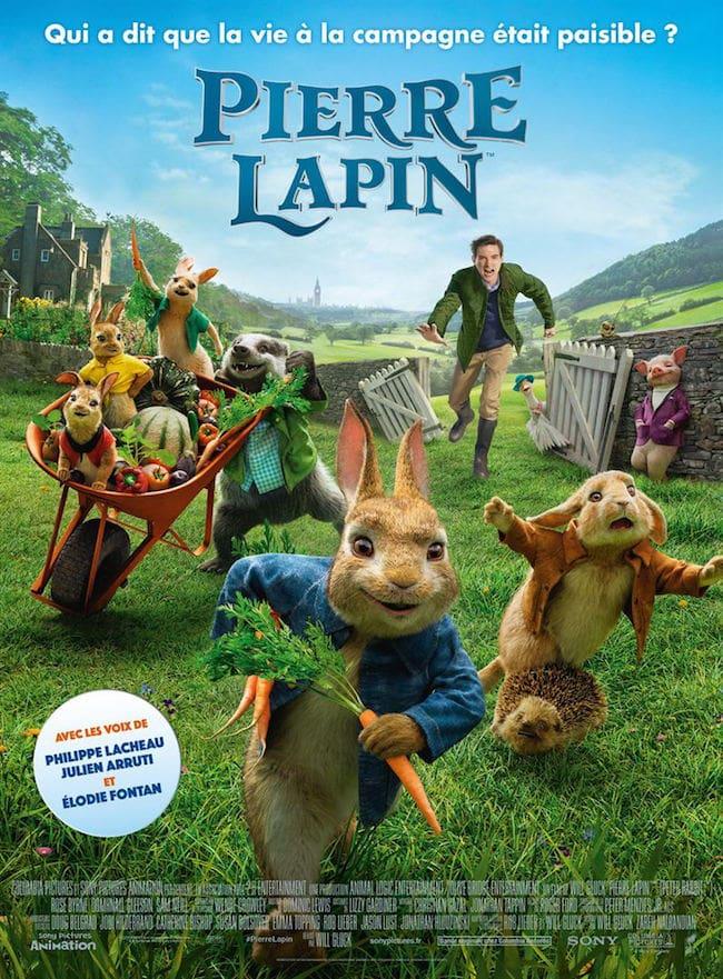 Film enfant 2018 Pierre Lapin