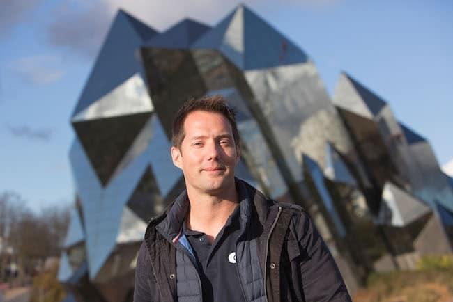 Thomas Pesquet la tête dans les étoiles Futuroscope 2018