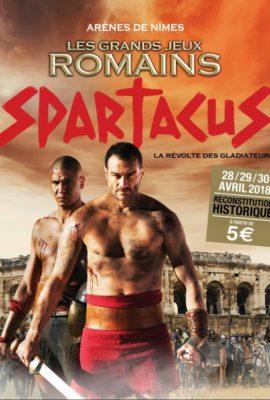 Grands Jeux Romains de Nîmes 2018 Spartacus