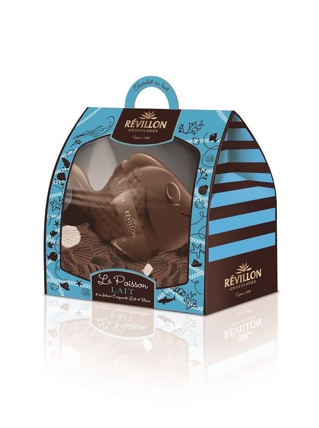 Poisson de pâques Revillon Chocolatier