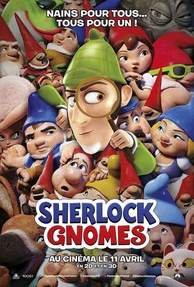 Film pour enfant 2018 - Sherlock Gnomes