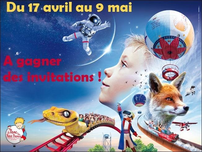 concours invitations Parc du Petit Prince