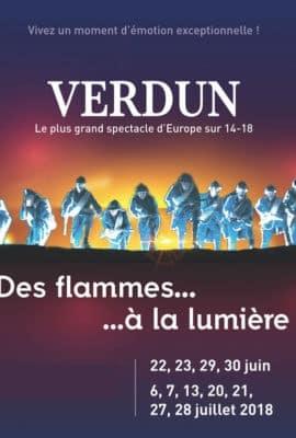 spectacle historique son et lumière Verdun