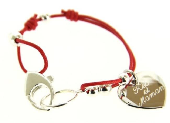bracelet personnalisé pour la fête des mères