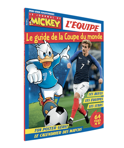 guide coupe du monde journal de mickey