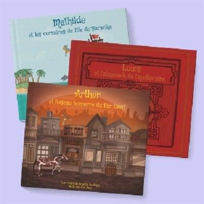 livres personnalisés enfants