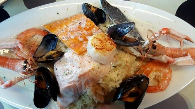 restaurant A contre-courant à Cancale