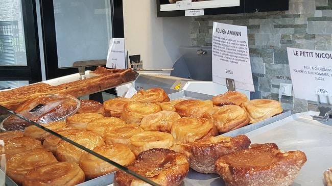kuign amann de la boulangerie de la cathédrale à Saint-Malo