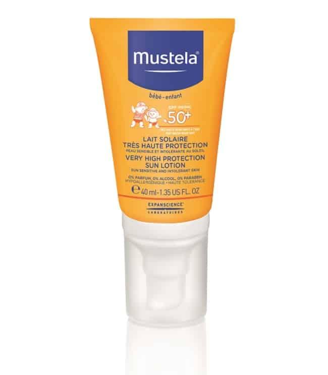 crème solaire enfant mustela
