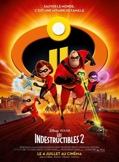 les indestructibles 2 Disney Pixar