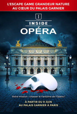 escape game Inside Opéra de Paris