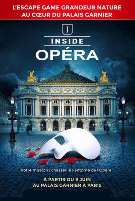 escape game Inside Opéra de Paris