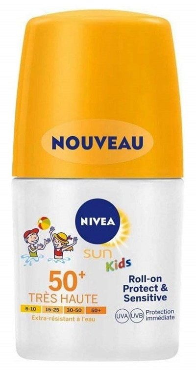 solaires enfants nivea roll-on