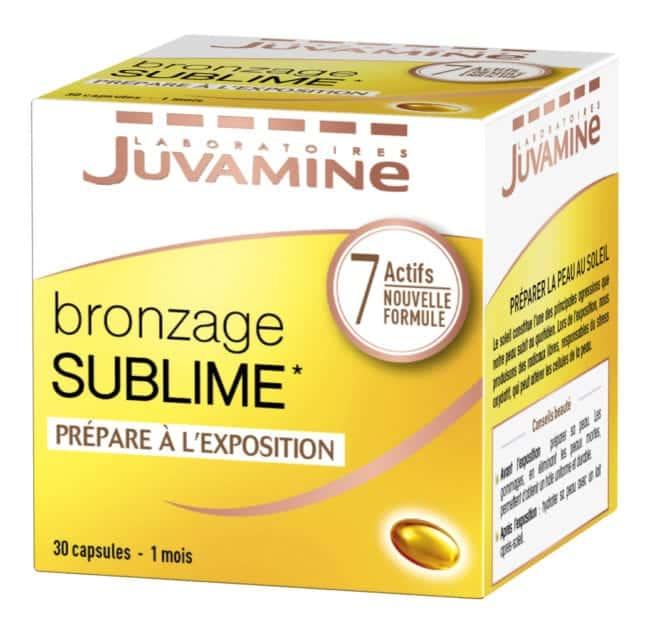 Bronzage sublime Juvamine