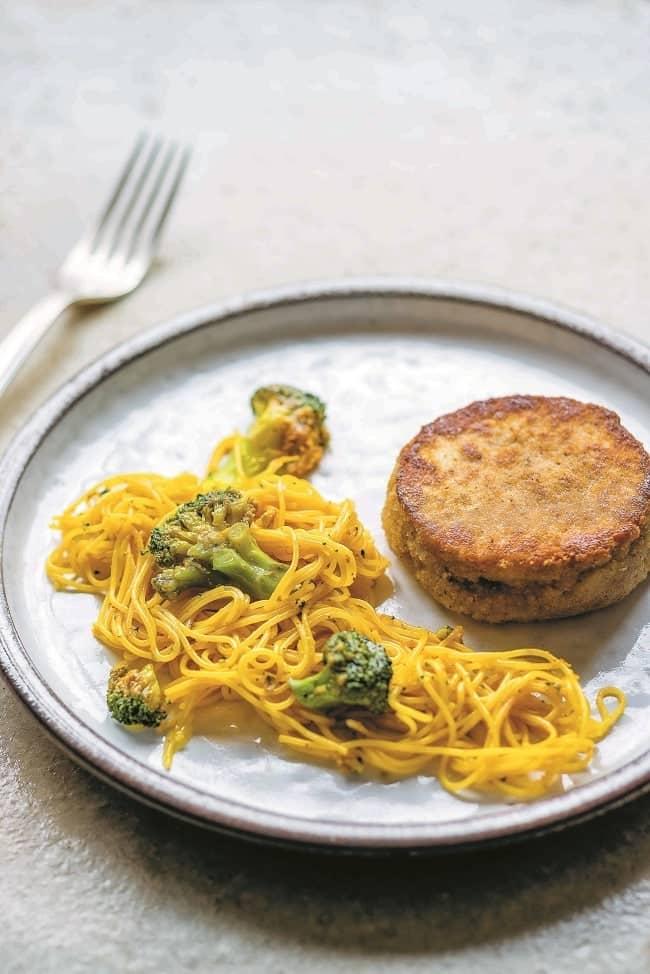 recette végétarienne de cordon bleu