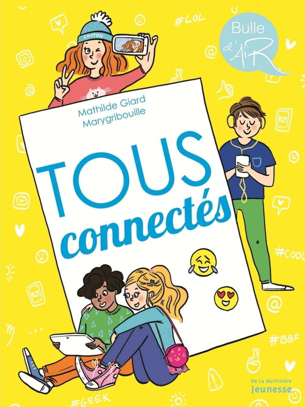 Tous connectés livre pour les 8-12 ans