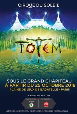 affiche Totem Cirque du Soleil