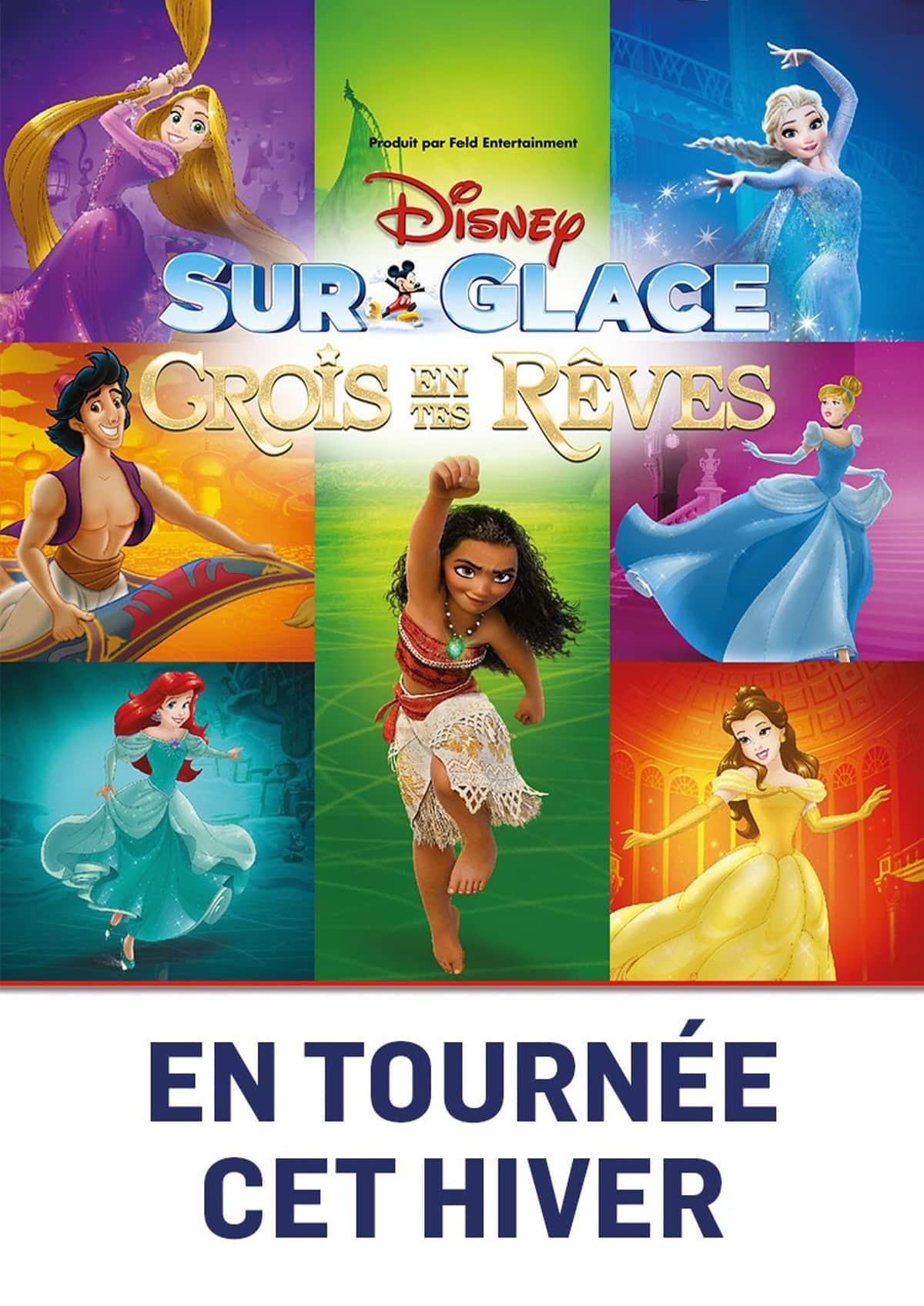 Disney sur glace crois en tes rêves