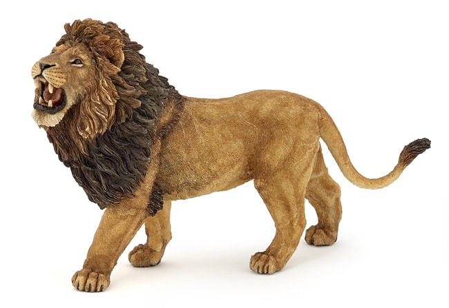 figurine lion papo