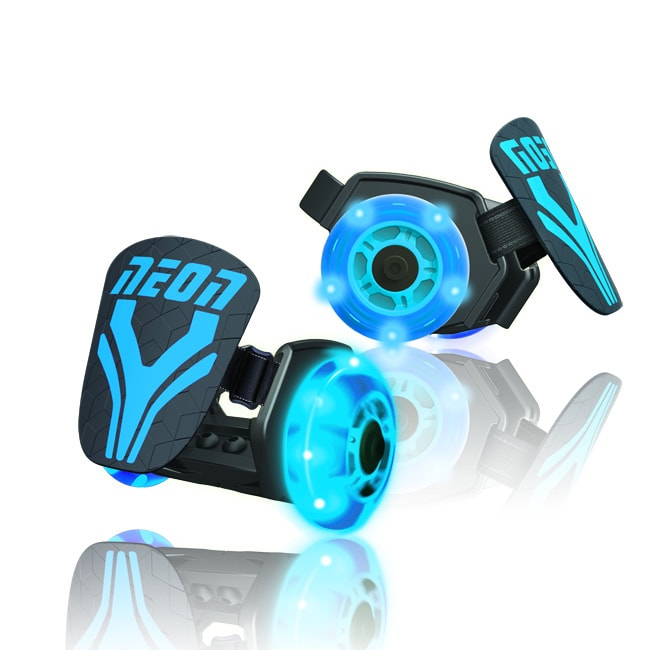 neon streett rollers bleus