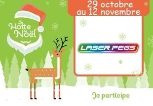 concours Noël Laser Pegs