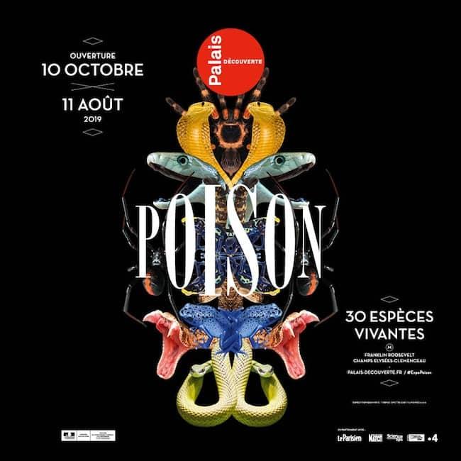 Exposition Poison Palais de la Découverte