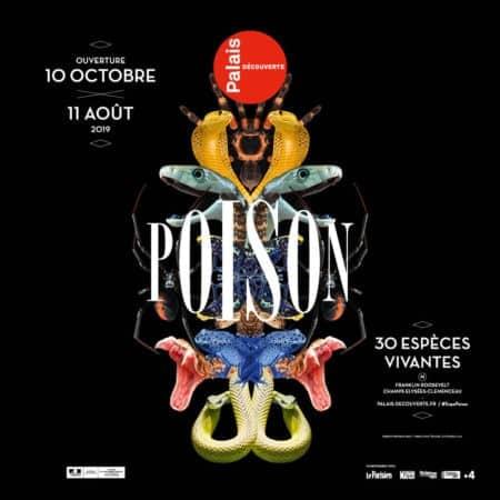 expo Poison au Palais de la découverte