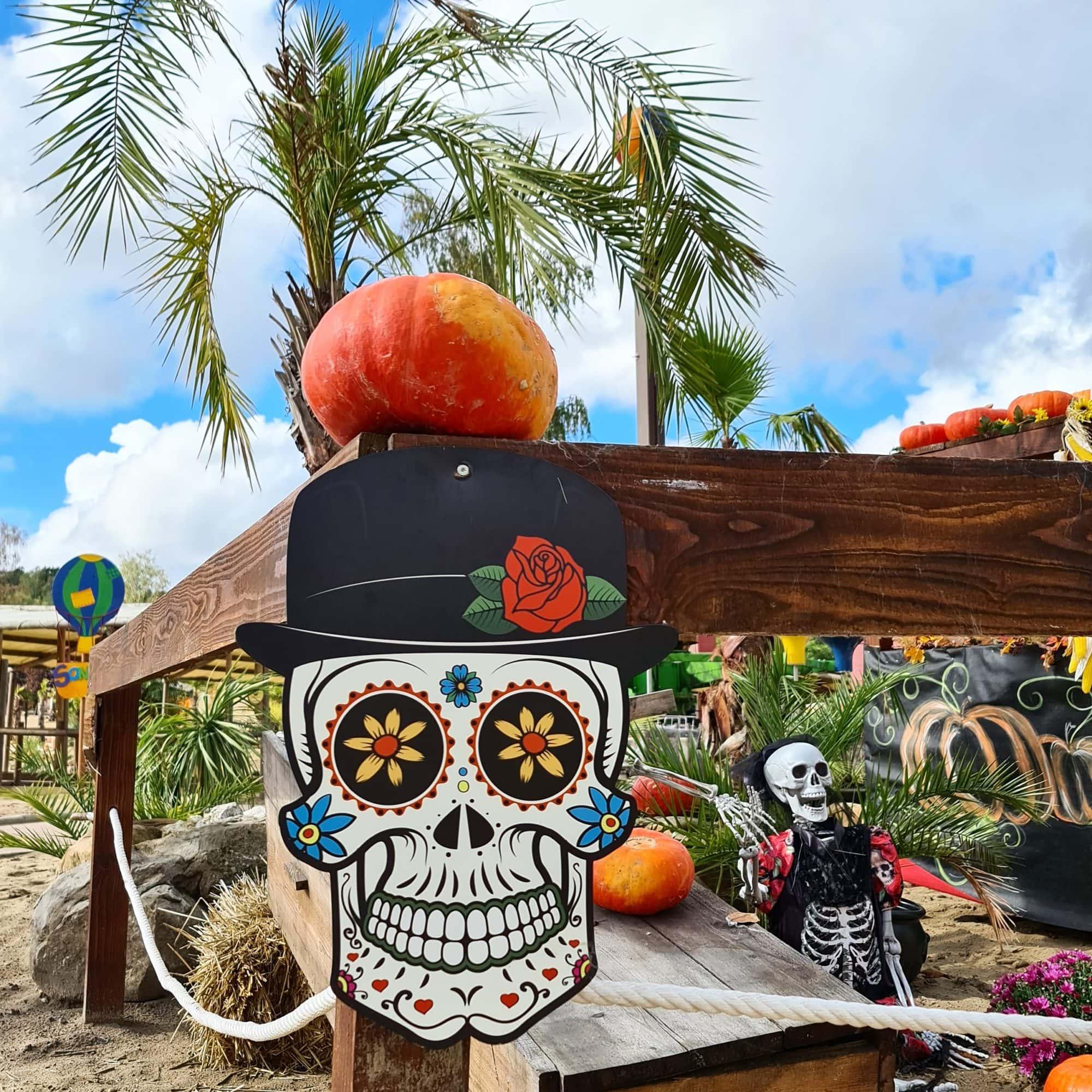 Mer de Sable Halloween El dia de los muertos