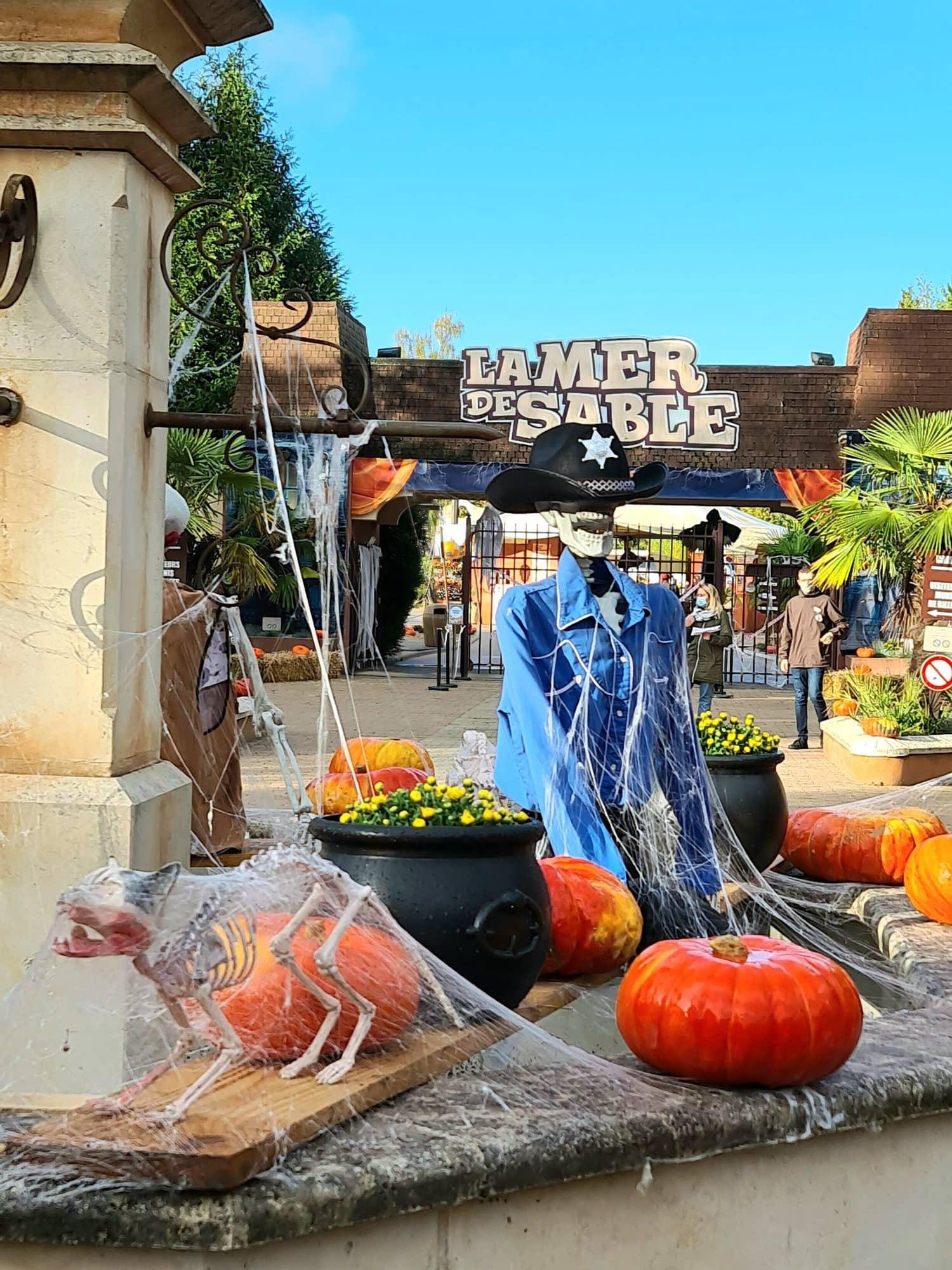 Halloween Mer de Sable