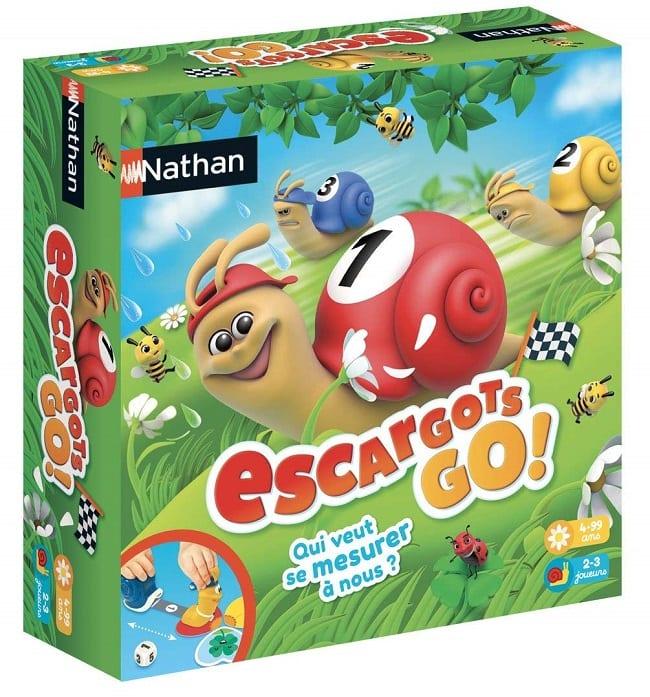 jeu Escargot go de nathan