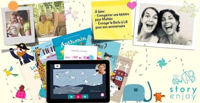 livres numériques personnalisés Story Enjoy