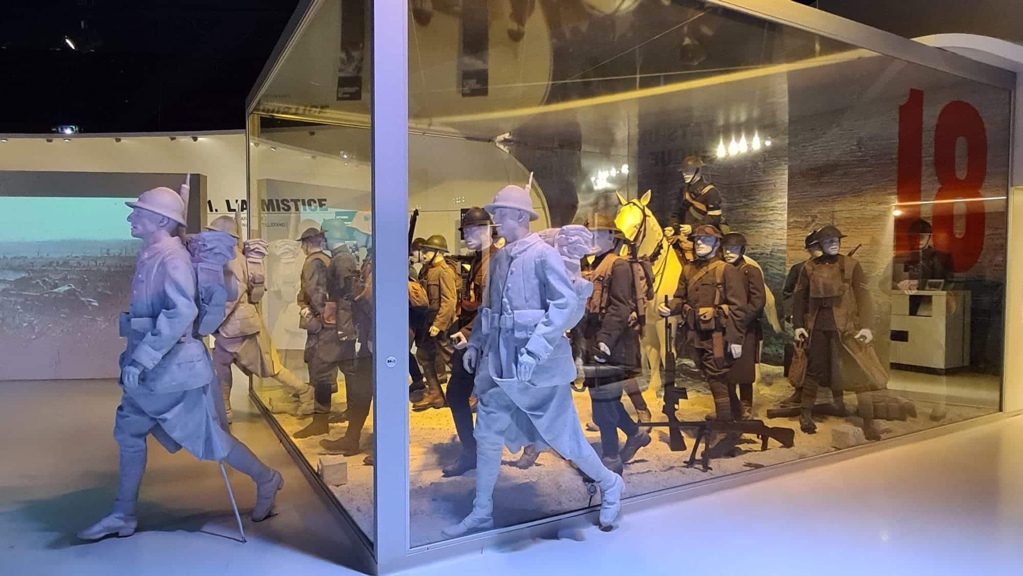 galerie des soldats 14-18, musée de Meaux