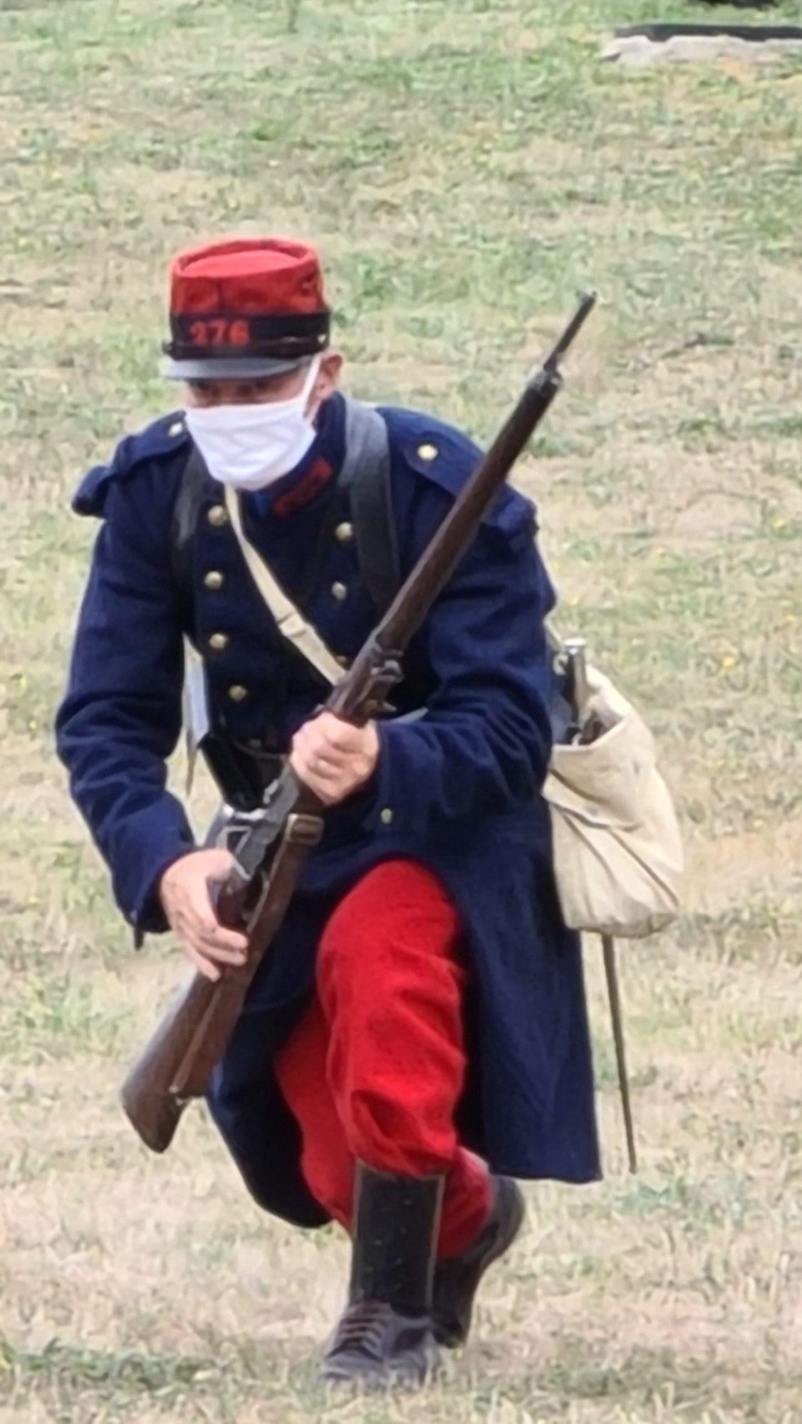 reconstituteur soldat 14-18 Meaux