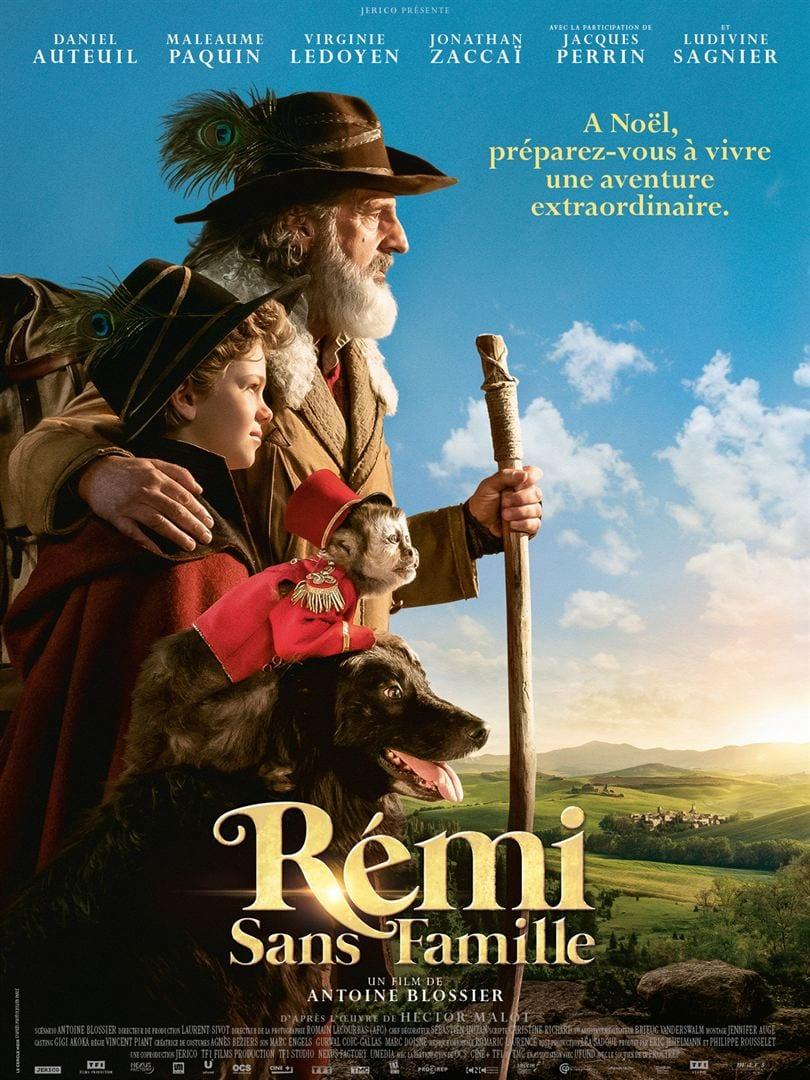 Rémi sans famille film 2018