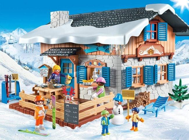chalet skieur playmobil