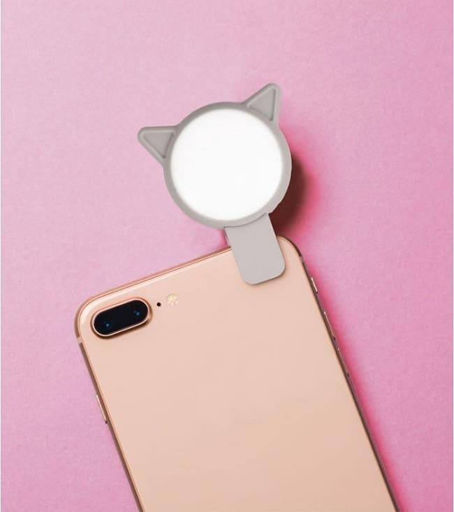 lumière à selfies pour smartphone