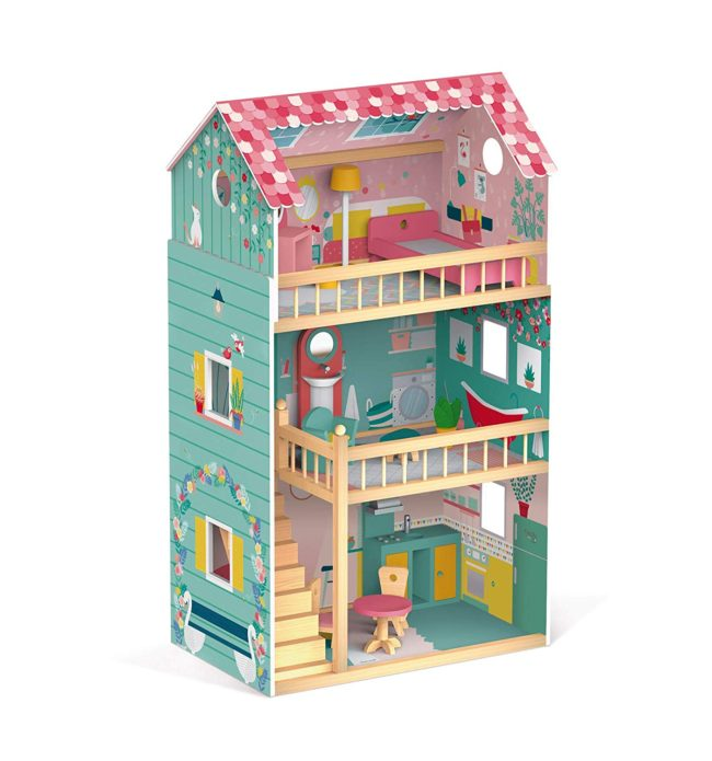 maison de poupées en bois Janod