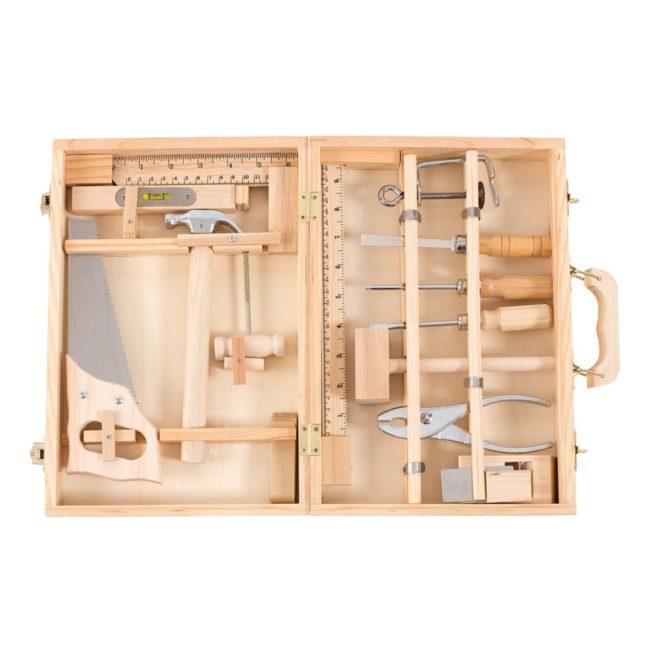 valise à outils de bricolage enfant