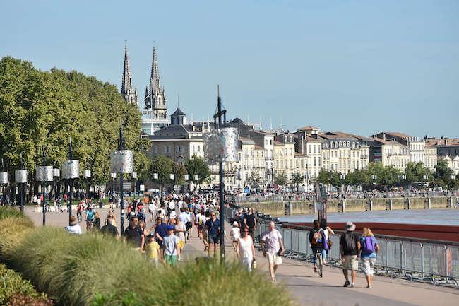 Quais rive gauche Bordeaux